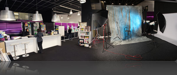 Le magasin et le studio Photostar